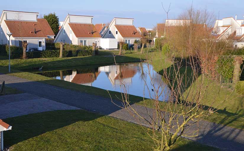 Vijver in de buurt Grevelingenhof 37, Zeeland Village